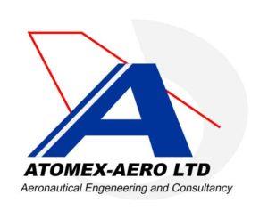 Logotipo Atomex-Aero